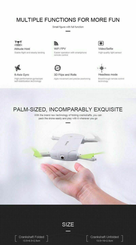 Pocket Drone - Selfie - E50