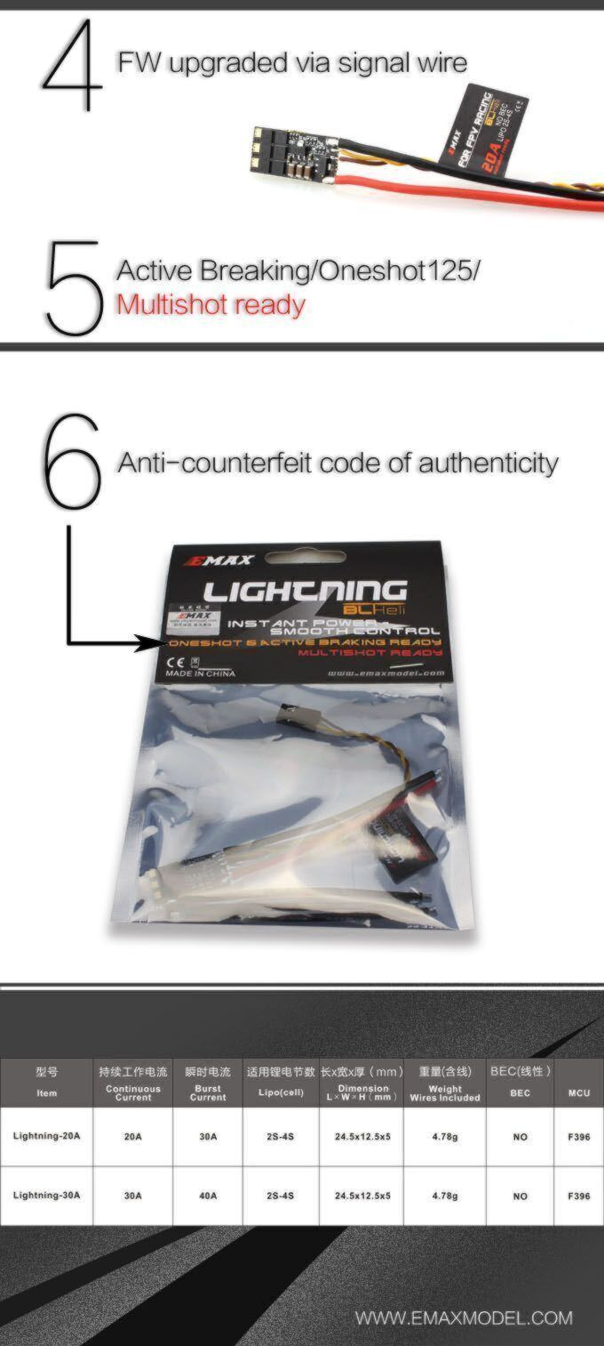 Emax Lightning 30A ESC