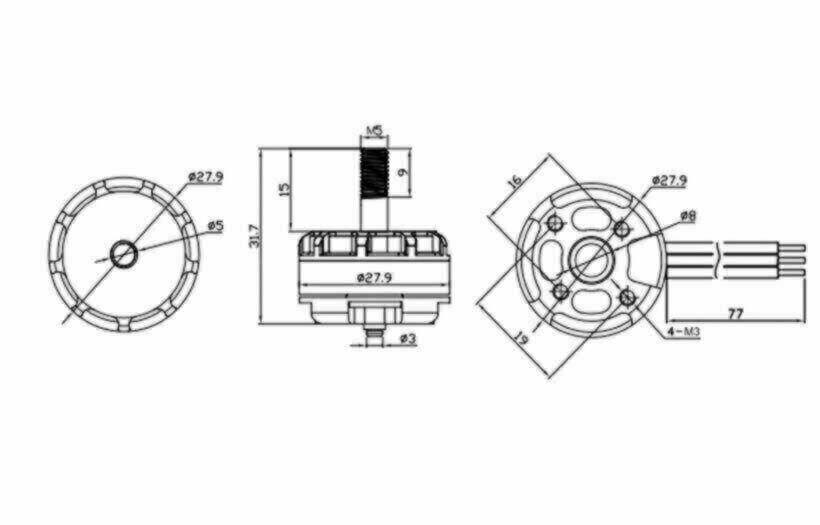 Emax RedBottom Motor