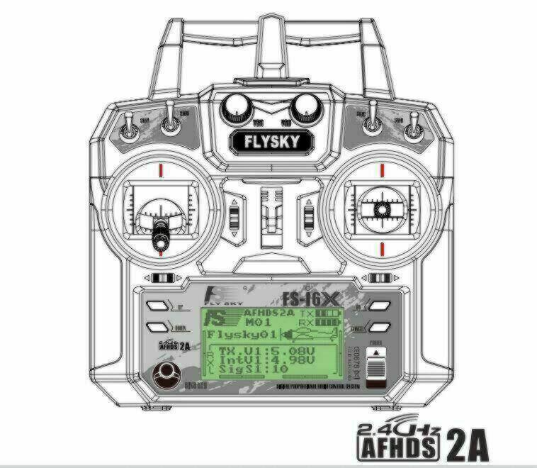 FlySky FS-i6X RC Transmitter
