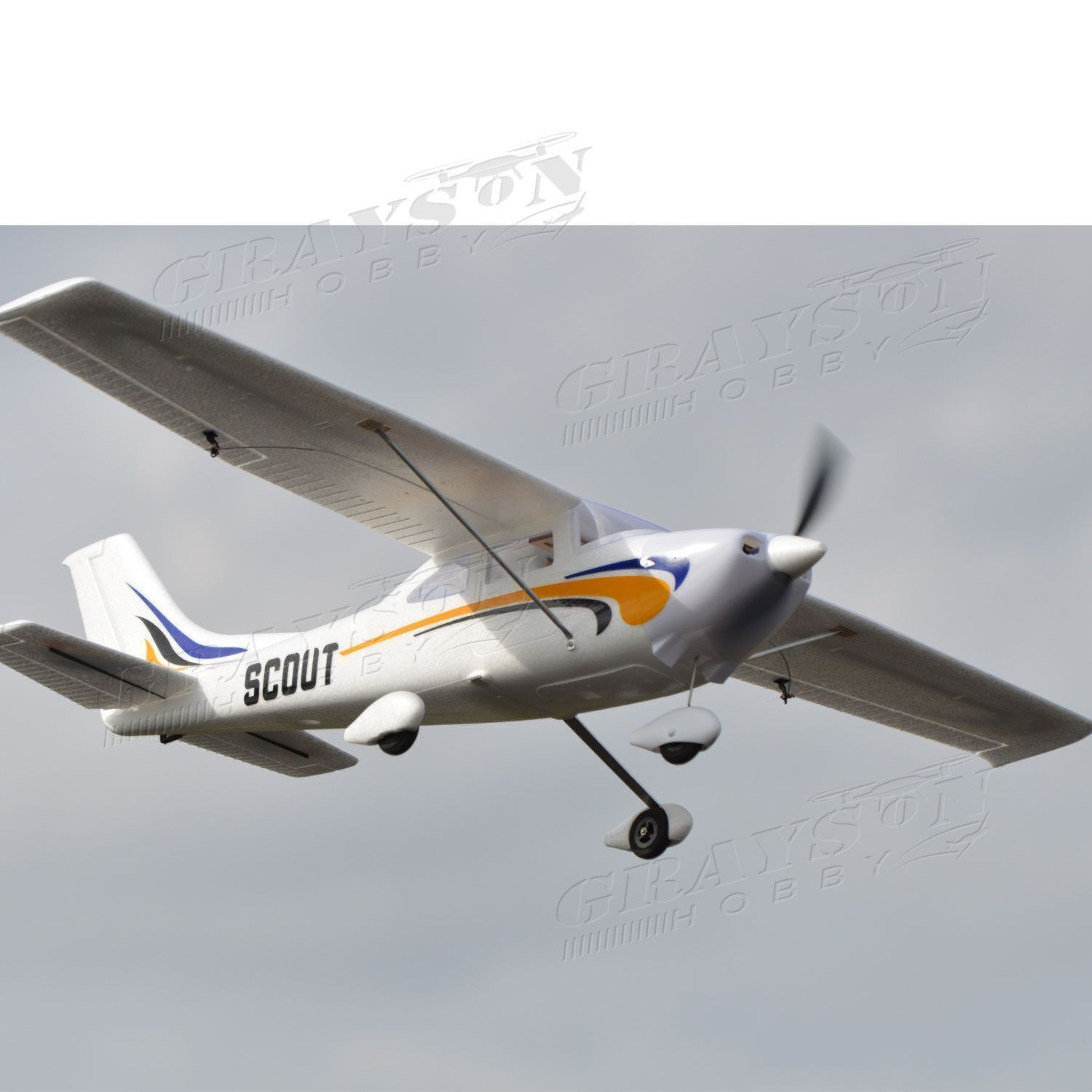 Dynam Beginner Electric Cessna Airplane