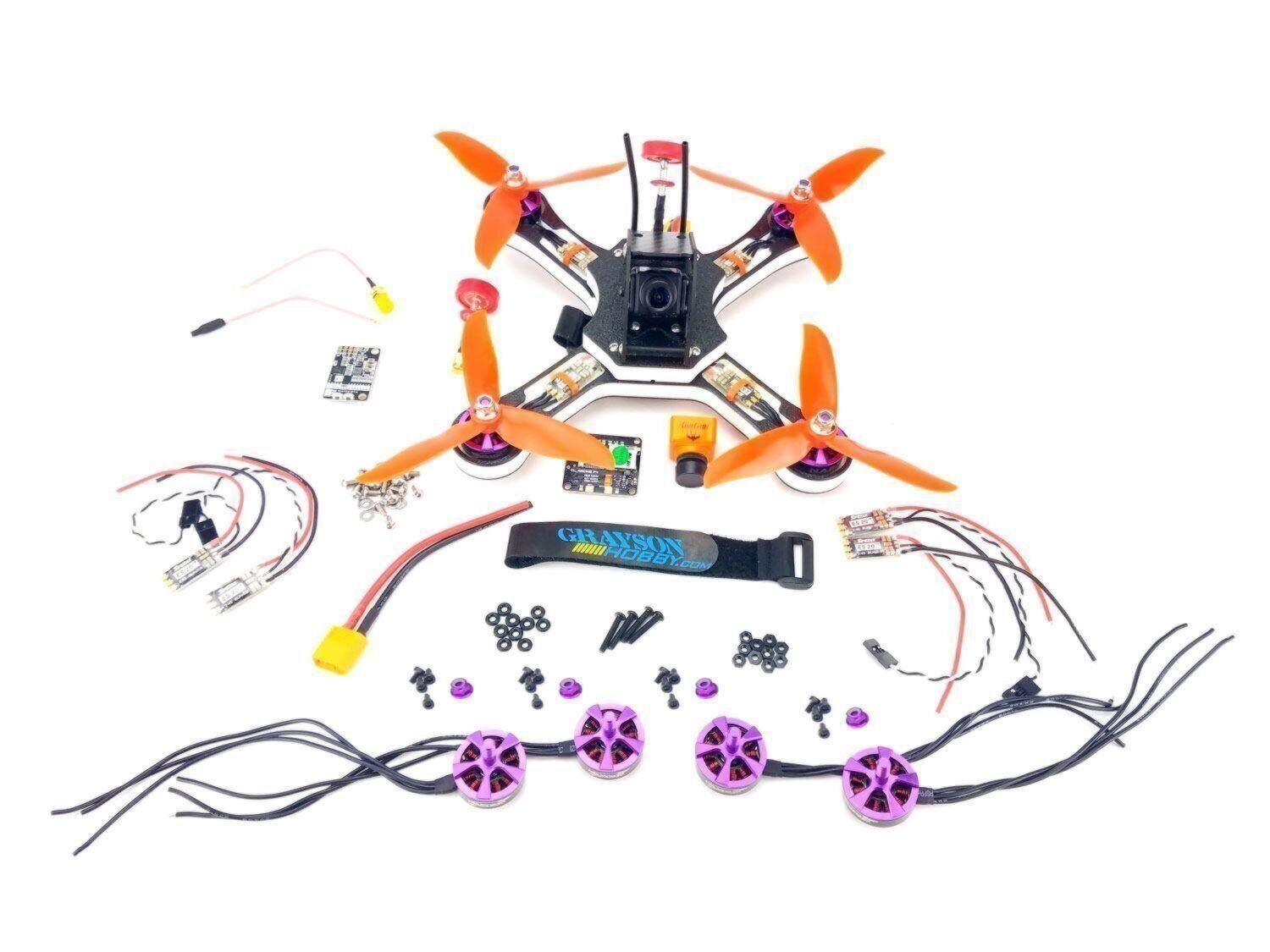 Custom DIY FPV Race Drone