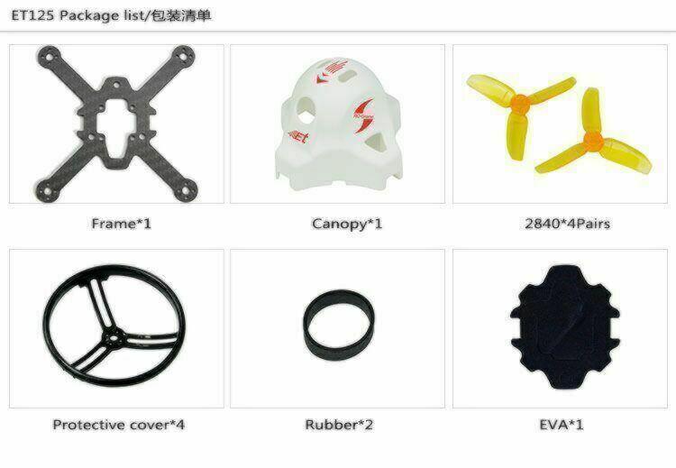 ET125 Frame Kit