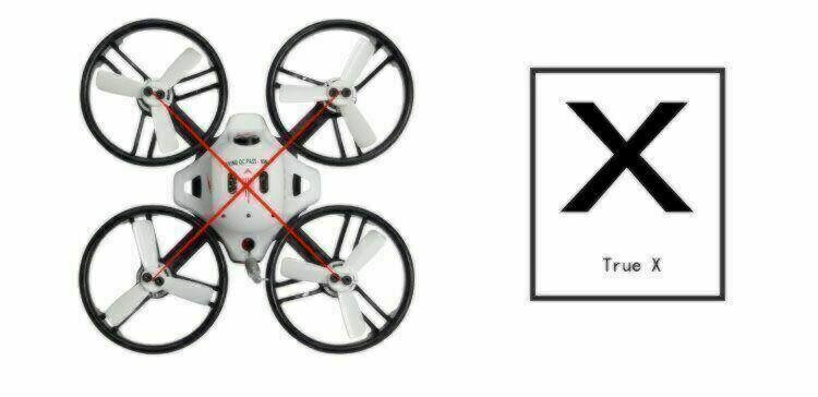 LDRC True X ET Series FPV Drone