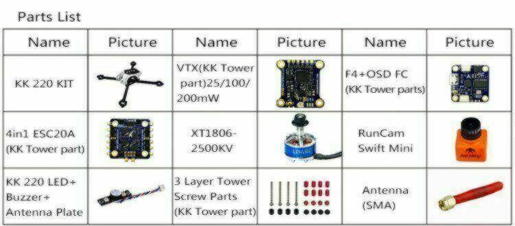 KingKong RC - LDARC KK220