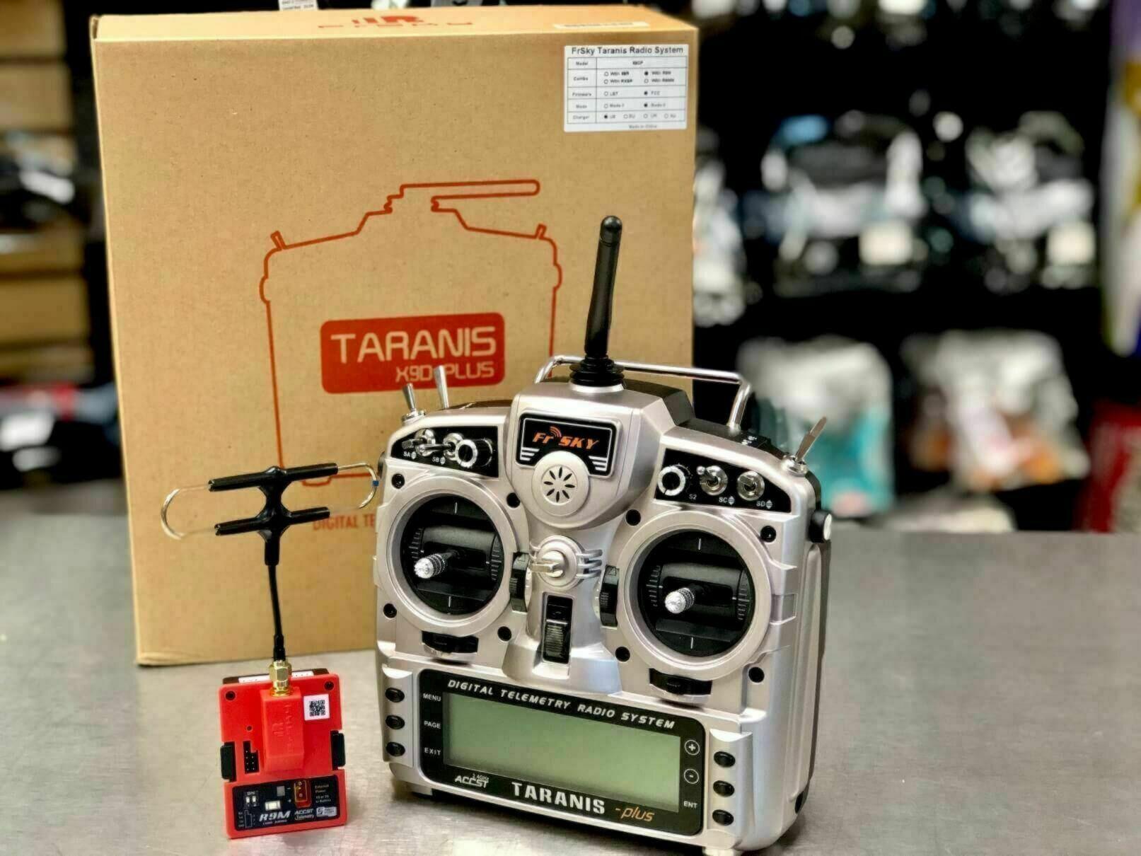 FrSky Taranis X9D Plus Transmitter - with FREE R9M Transmitter Module